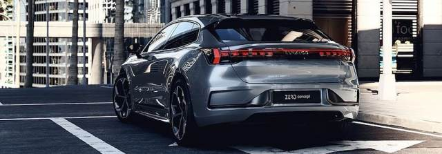 Электромобиль Zero Concept (Link&Co)