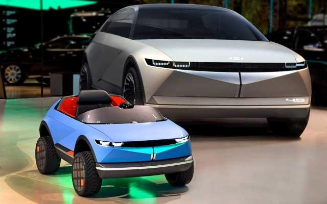 Hyundai готовит к производству детский электромобиль