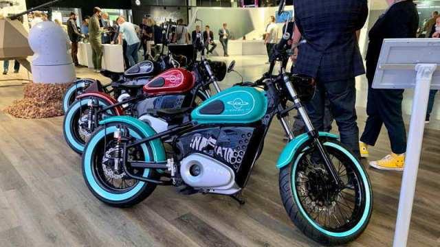 Электромотоцикл Иж-49