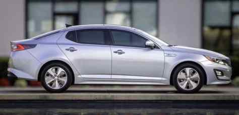 Kia Optima Hybrid 2020