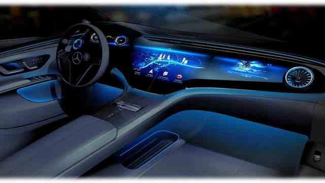 Mercedes-Benz EQS интерьер