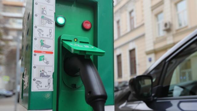 ЭЗС для электромобиля в Москве