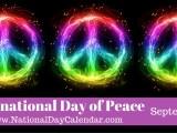 Dziś Międzynarodowy Dzień Pokoju