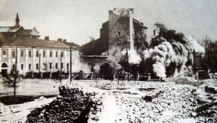 Wieluń jest symbolem zbrodni niemieckich na ludności cywilnej