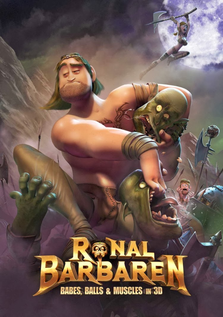 """Ronal The Barbarian"" depicts sexual characteristics in 3D"