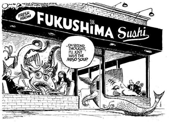 "Fukushima's ""Dirty"" Sushi"