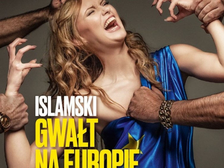 "Polish magazine cover claims ""Rape of Europe"" at the hands of Refugees"