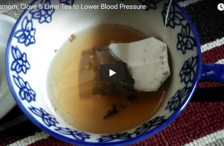 Cardamom, Clove & Lime Tea to Lower Blood Pressure