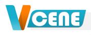Логотип Vcene