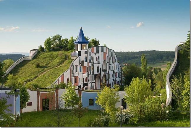 Hundertwasser_Village thermal de Blumau