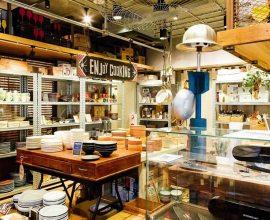海外の調理器具や食器が並ぶ「THE HARVEST KITCHEN GENERAL STORE」