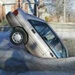 Detroit potholes