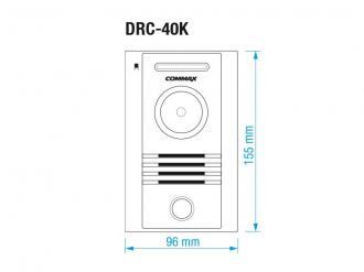 | COMMAX CDV-43M bílý/DRC-40K, sada s 4,3 handsfree