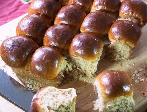 לחמניות מקמח לחם מלא, צילום: מנחם גרייבסקי