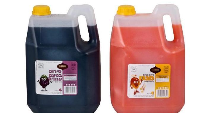 סירופ לשתייה 4 ליטר של אחוה