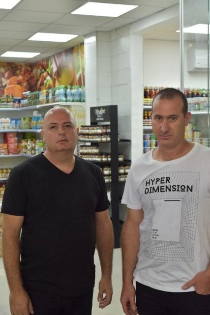 אילון זקצר ורפאל אברהם, יזמי הגל הירוק. צילום: ליגרף עיצובים