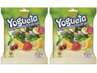 יוגטה - סוכריות בטעם פירות. צילום: עמית שטראוס