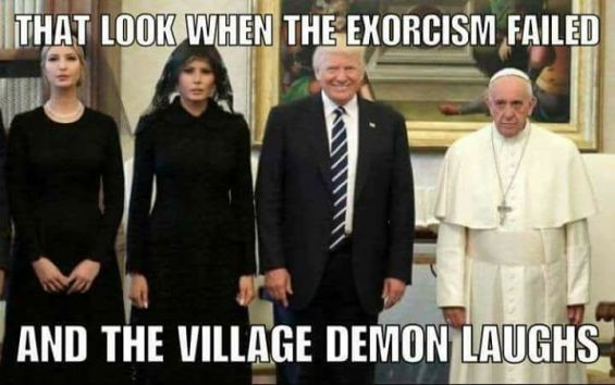 Trump Exorcism Fail