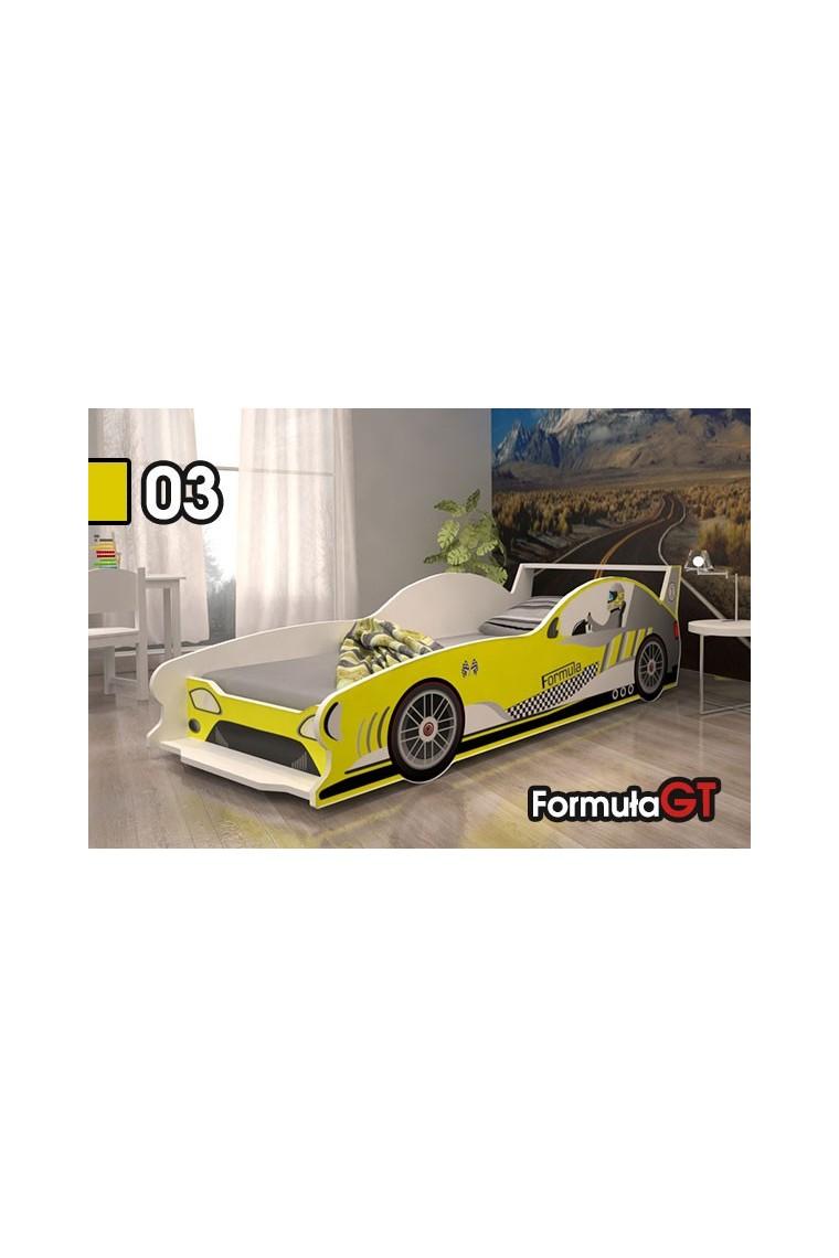 Letto macchina da corsa Formula GT 160x80 cm