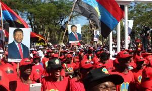 Apoiantes do MPLA
