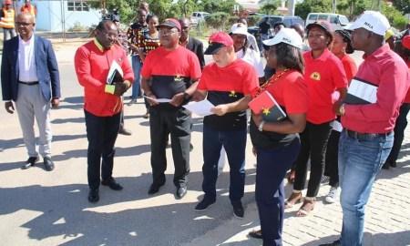Membros do MPLA