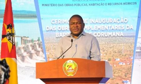 Presidente moçambicano, Filipe Nyusi