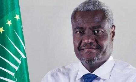 Moussa Faki Mahamat, Presidente da Comissão da União Africana