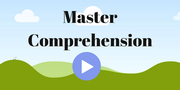 Master Comprehension – Course Launch