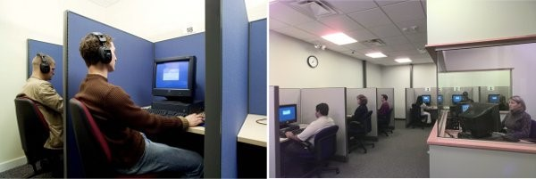 GMAT Test Center physical environment