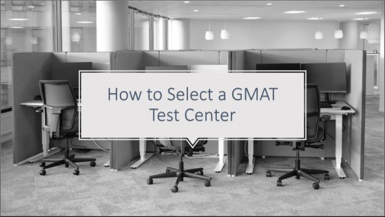 1 How To Book The GMAT Test Center Location
