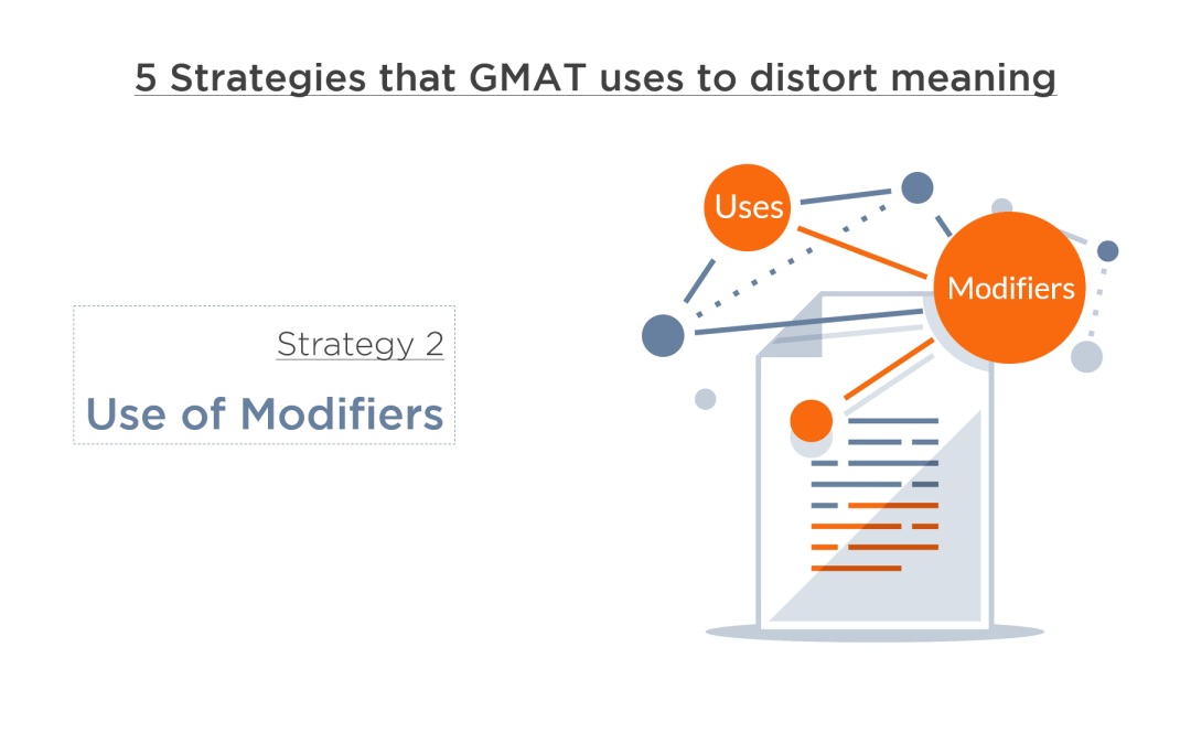 GMAT and Meaning – Part 2: Strategy 2 – Use of Modifiers