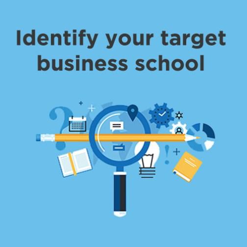 business school rankings to identify target business schools