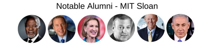 MIT Sloan - Notable Alumni