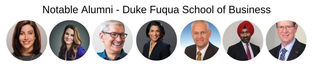 Duke Business School, Fuqua MBA Program - Notable Alumni