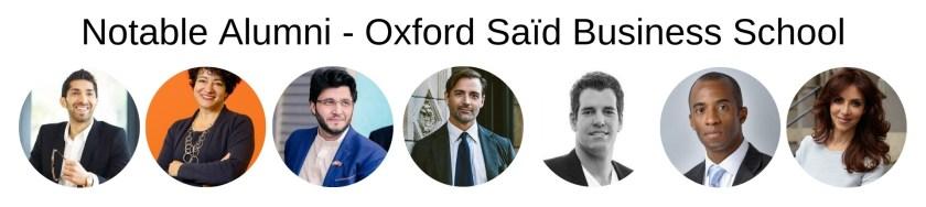 Oxford Saïd Business School- Notable Alumni-mba