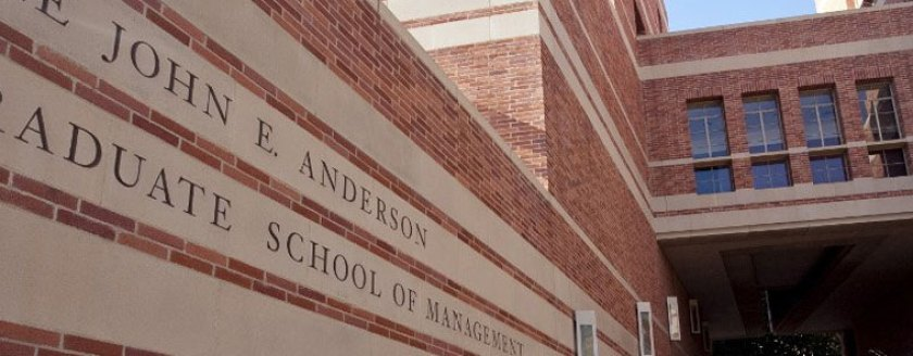 UCLA Anderson Best Business Schools in Technology