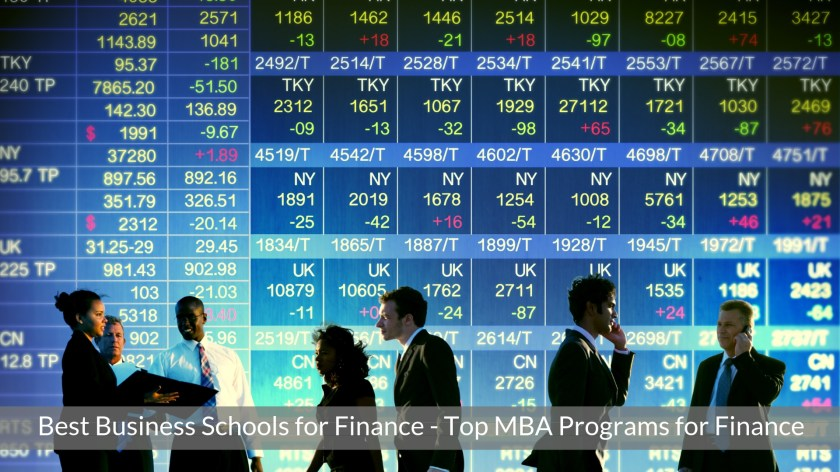 Best Business Schools for Finance - Top MBA Programs for Finance Careers