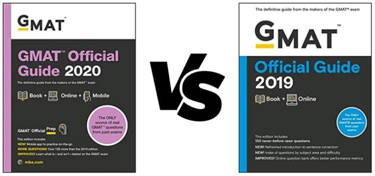 GMAT Official Guide 2020 vs GMAT OG 2019