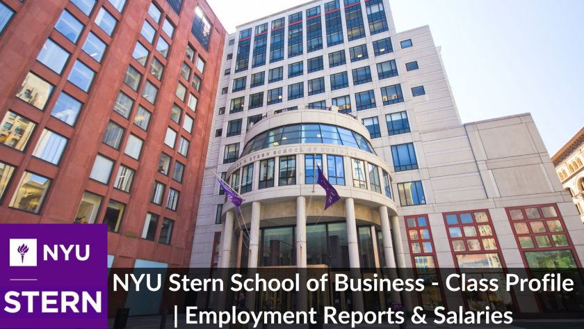 NYU Stern School of Business - Class Profile _ Employment Reports & Salaries