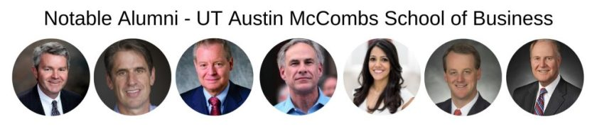 UT Austin McCombs School of Business - McCombs MBA Program - Notable Alumni