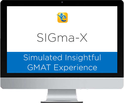 GMAT practice test sigmax mocks