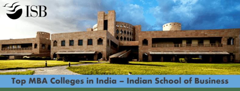 Top business schools in India - ISB