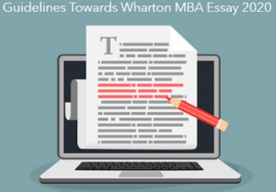 Guidelines-Wharton-MBA-Essay