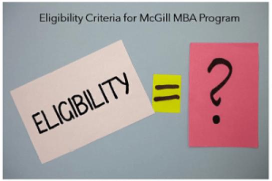 McGill-MBA-eligibility