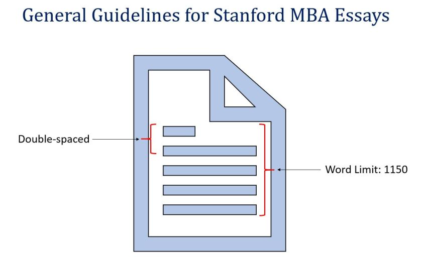 Stanford MBA Essay Guidelines