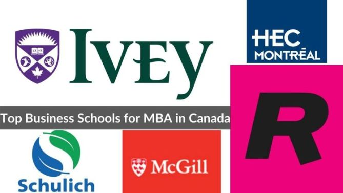 Best MBA colleges in Canada 2020