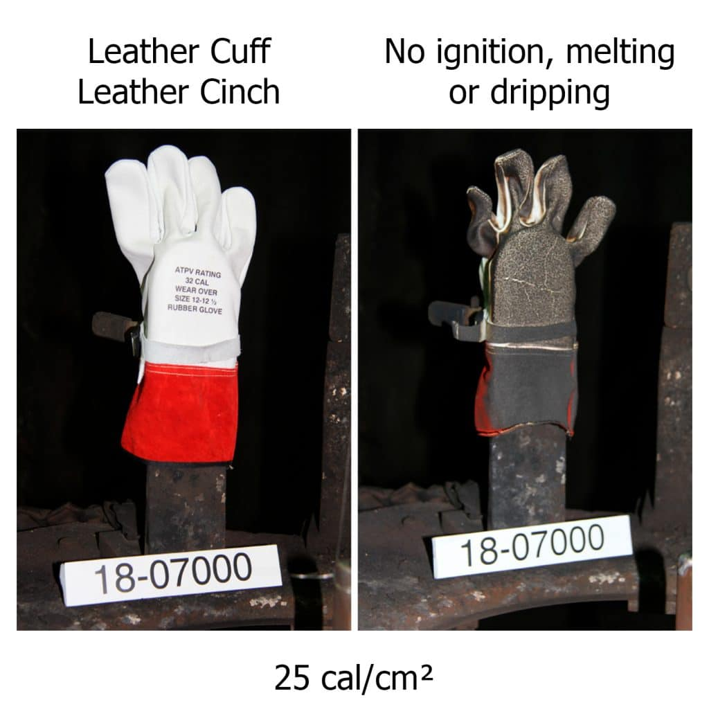 Will Your Gloves Stack Up? ASTM 2675-19: Arc Rating Test Method Standard for Rubber & Leather Gloves