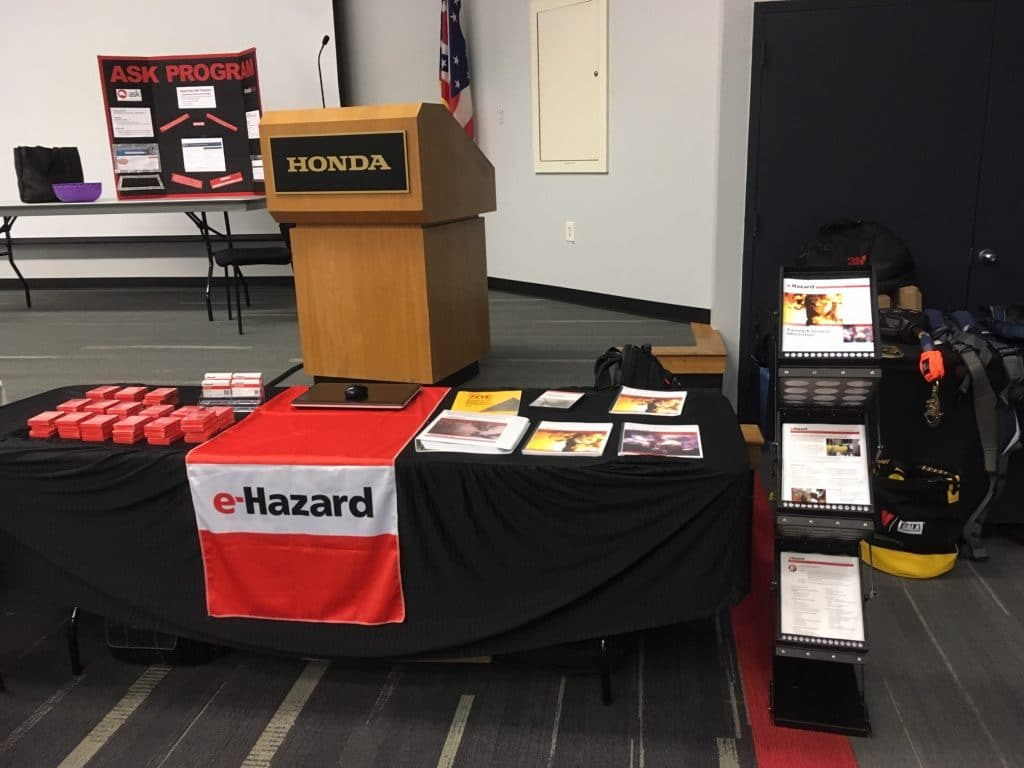 e-Hazard Presence at the North America Safety Forum