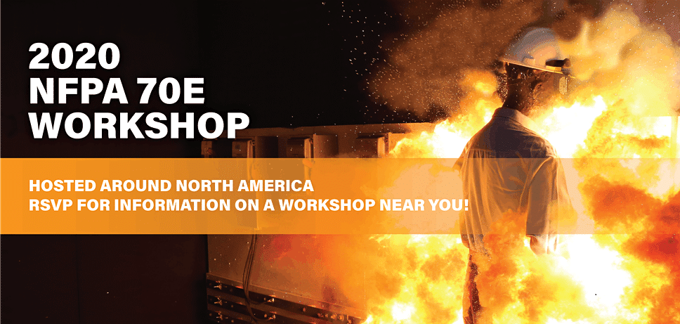 NFPA 70E Workshops Cancelled Through May