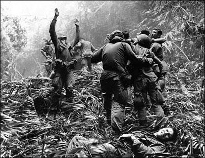 Rescate de soldados Estadounidenses en Vietnam